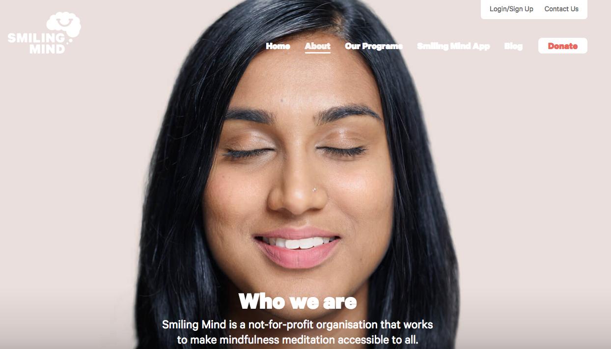 download smiling mind app